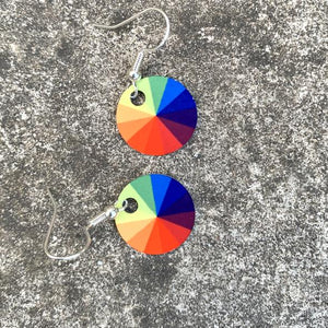 SPECTRUM DROP EARRING by Jenni Douglas
