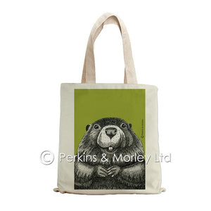 BEAVER INK TOTE BAG