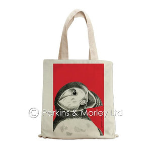 PUFFIN INK TOTE BAG