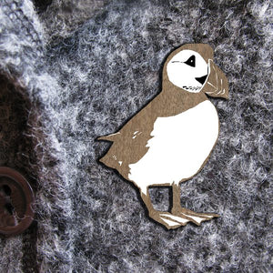PUFFIN WILDER  BROOCH