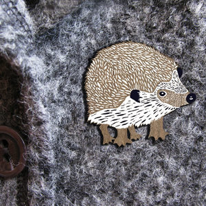 HEDGEHOG WILDER  BROOCH