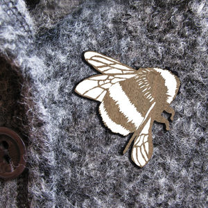 BEE WILDER  BROOCH