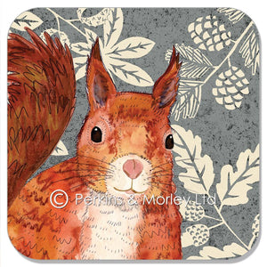 RED SQUIRREL WILD WOOD COASTER