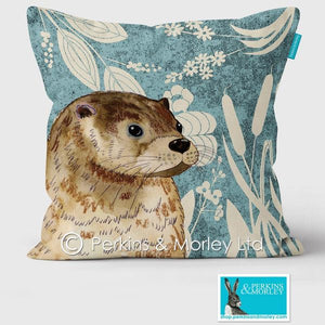 OTTER WILD WOOD CUSHION