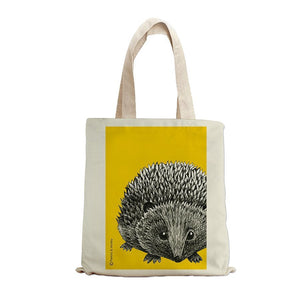 HEDGEHOG INK TOTE BAG