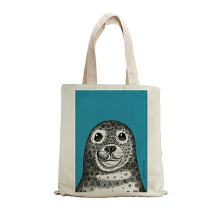 SEAL INK TOTE BAG