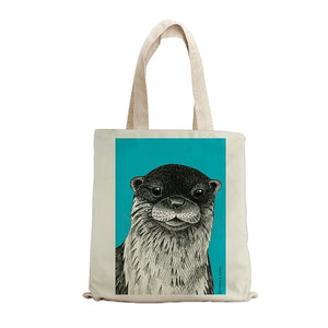 OTTER INK TOTE BAG