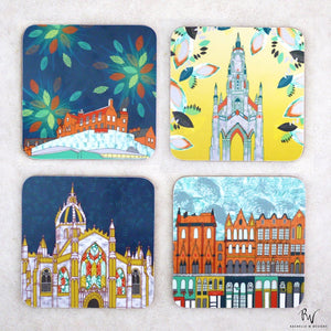 SCENES OF EDINBURGH COASTER SET
