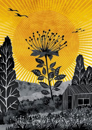 THE TALLEST FLOWER - Ruth Thorp Print