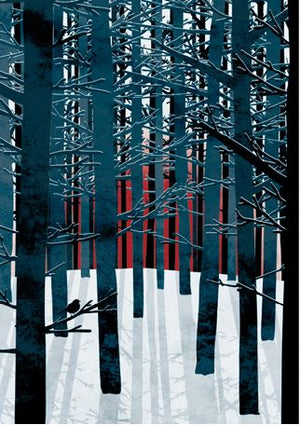 RUTH THORP PRINT NORTHERN FOREST