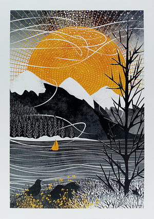 SAIL ON THE WIND - Ruth Thorp Print