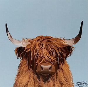 COW PRINT BY ELLA BRUTY
