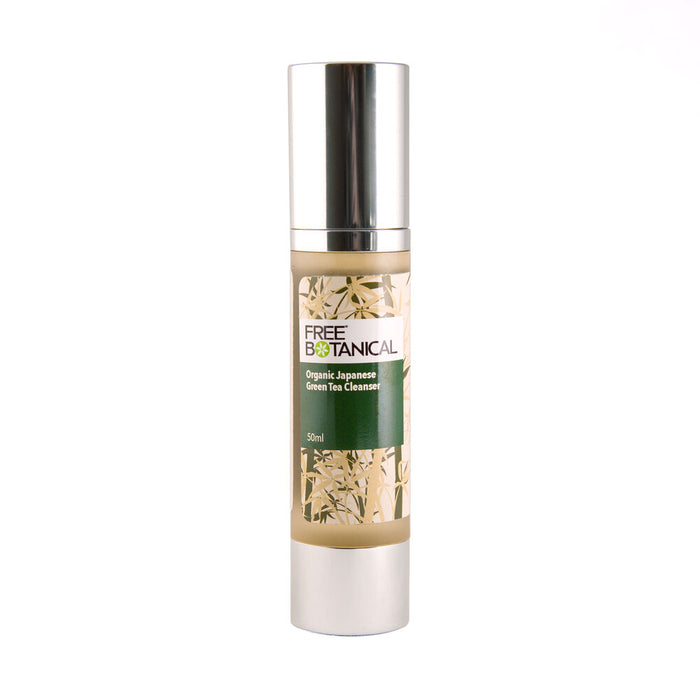 ORGANIC JAPANESE GREEN TEA FACIAL CLEANSER by Free Botanical    50ml