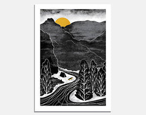 RIVER ADVENTURE - Ruth Thorp print