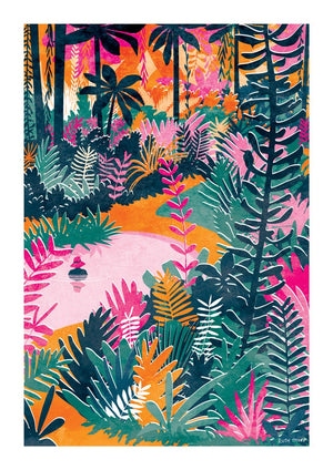 PARADISE FOUND - Ruth Thorp print