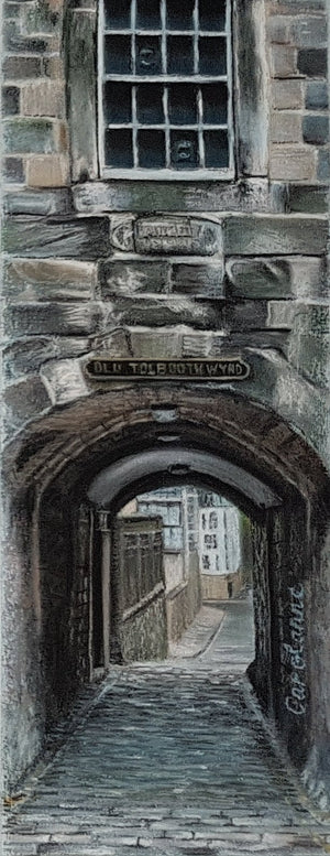 OLD TOLBOOTH WYND by Carolanne Jardine