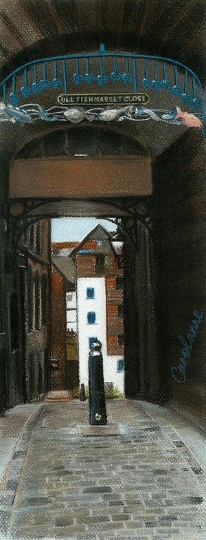 OLD FISHMARKET CLOSE by Carolanne Jardine