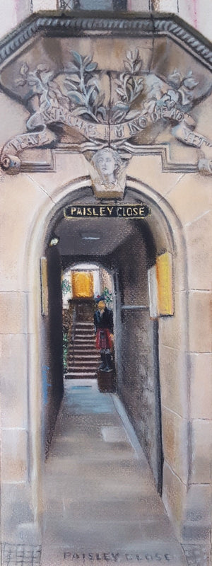 PAISLEY CLOSE by Carolanne Jardine