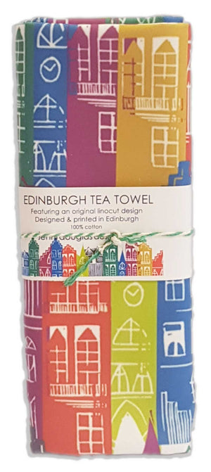 JENNI DOUGLAS DESIGNS EDINBURGH ART PRINT ILLUSTRATION