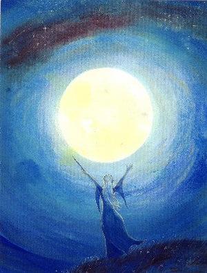 DRAWING DOWN THE MOON  by Keli Clark