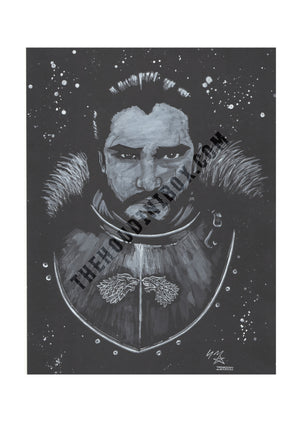 GAME OF THRONES PRINT - EDINBURGH ARTIST
