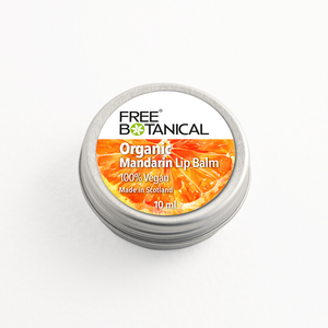 MANDARIN ORGANIC LIP BALM by Free Botanical  10ml