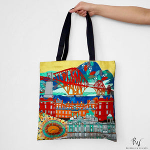 EDINBURGH SCENES TOTE BAG by Rachelle Wong