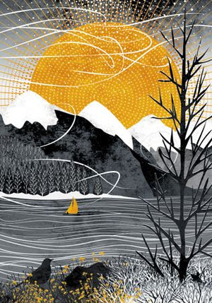 RUTH THORP SAIL WITH THE WIND PRINT