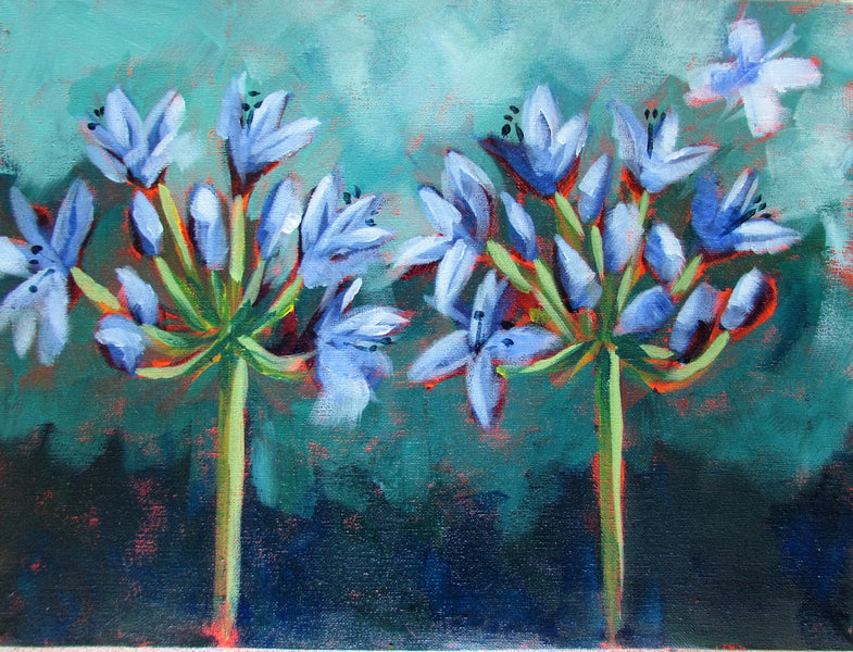Agapanthus : new downloadable Guided Painting Class