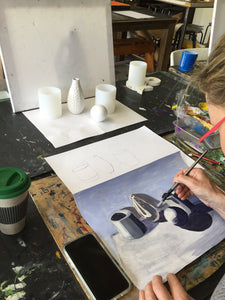 Adult Art Class :  Friday Term Time