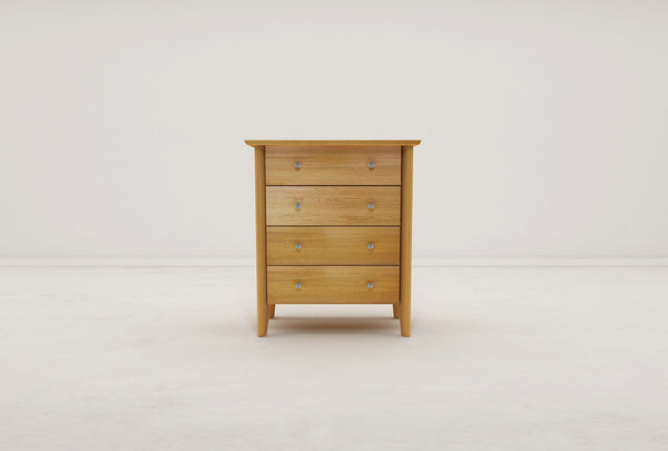 Nathalie 4 Drawer Chest (Oak)