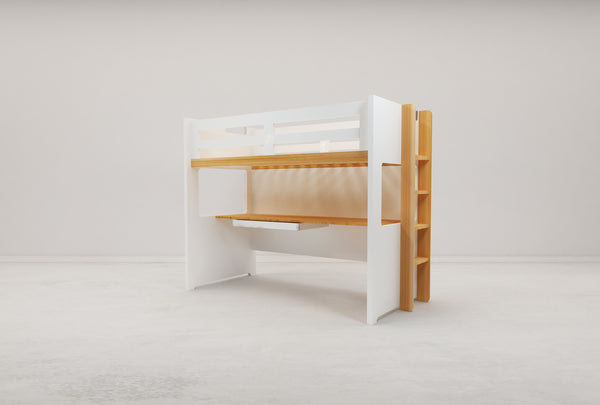 Vita Single Loft Bed Frame