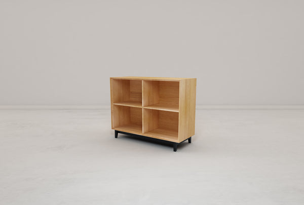 Kotak 4 Shelf Cube w/ Leg
