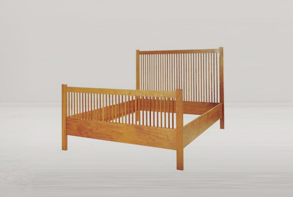 J20 Spindle Queen Bed Frame
