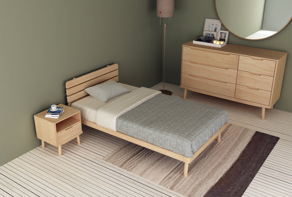 Boston King Single Flexi-Slat Bed Frame
