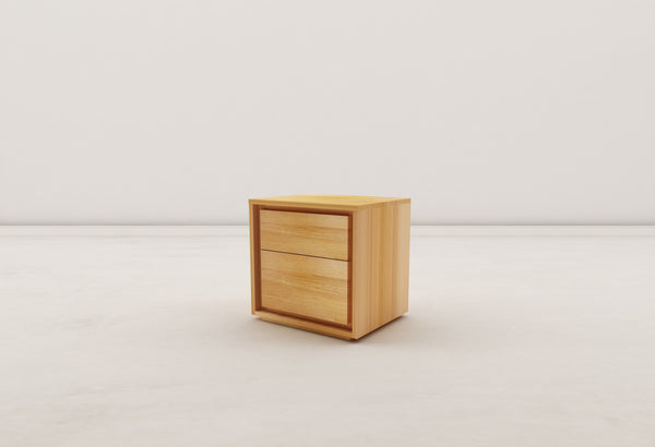 Norwish 2 Drawer Sidetable - PreOrder