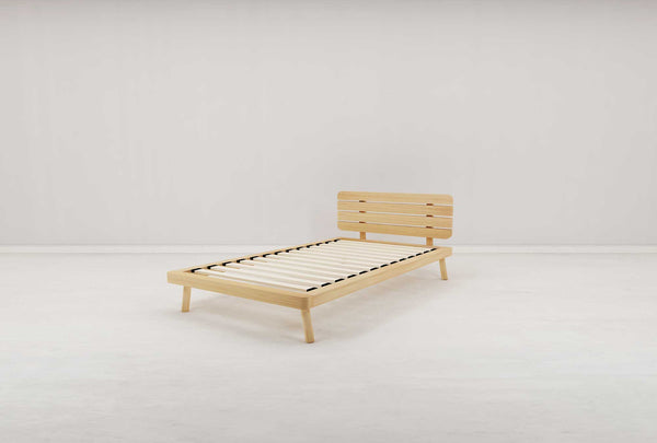 Boston King Single Flexi-Slat Bed Frame - Oakano Furniture