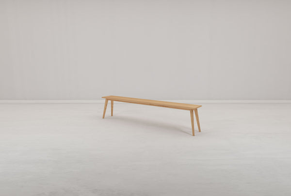 Hanm Folks Solid Oak Bench - Oakano Furniture