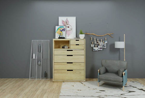Infinite 6 Drawer Chest - Oakano Furniture