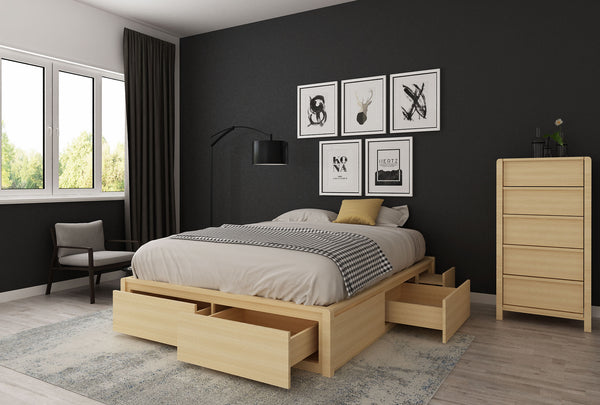 Koeler King Flexi-Slat Storage Bed Base - Oakano Furniture