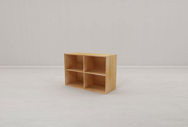 Kotak 4 Shelf Cube - Oakano Furniture