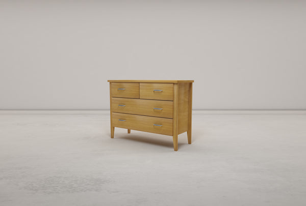 Lunna 4 Drawer Dresser - Oakano Furniture