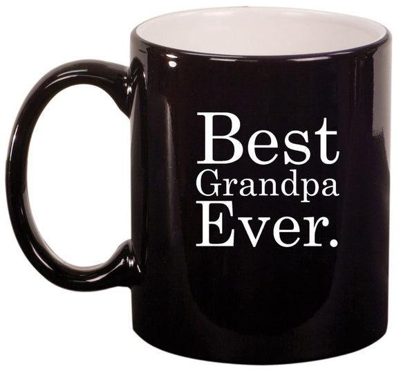 11oz Ceramic Coffee Tea Mug Glass Cup Best Grandpa Ever