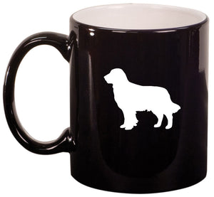 11oz Mug Glass Cup Golden Retriever
