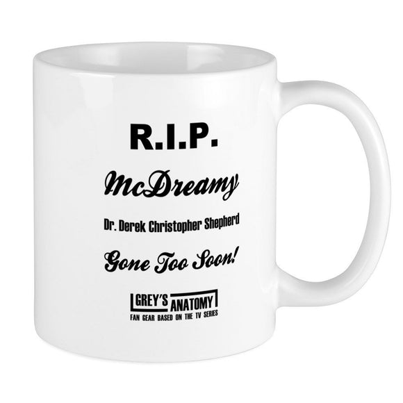 R.I.P. Mc DREAMY - Printed Ceramic Coffee Mug