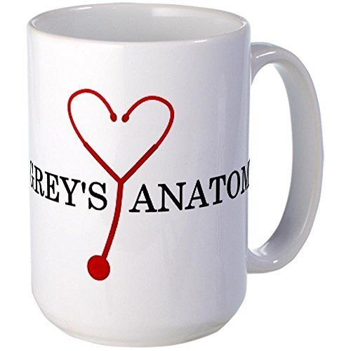 i heart greys anatomy Large Ceramic Coffee mug
