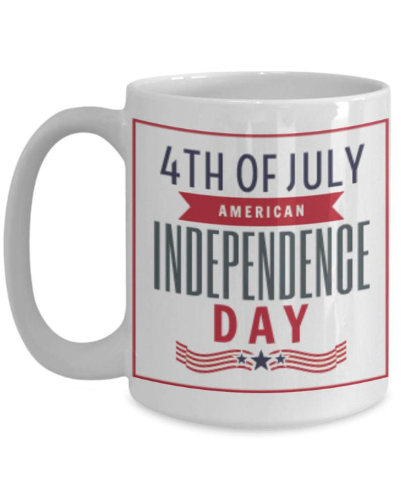 4th Of July American Independence Day Coffee Mug