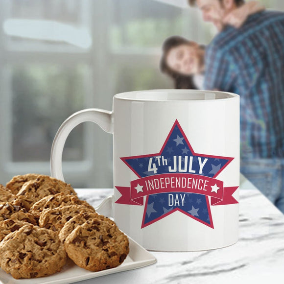 4th of July Independence Day Mug