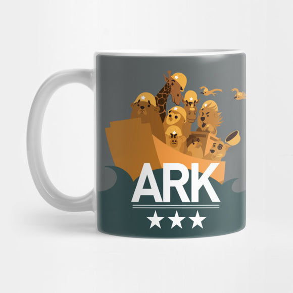 ARK group logo (Coffee and Travel MUGS) Mug - Best Gift for Boyfriends - Eureka Mugs