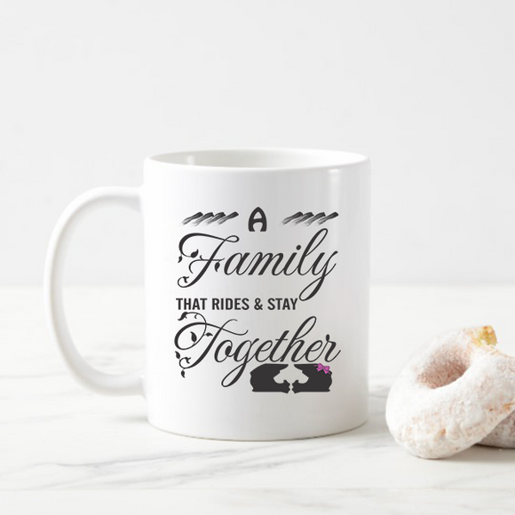 A Family That Rides Together and Stays Together Dirt Bike Coffee Mugs Gift for Dirt Biker Lovers Valentine Day Gift Idea